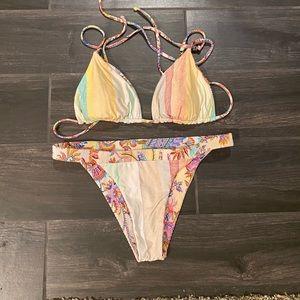 Luli Fama Alcazar Reversible Bikini Set